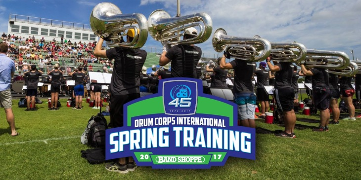 Band Shoppe Sponsors DCI Spring Training 2017