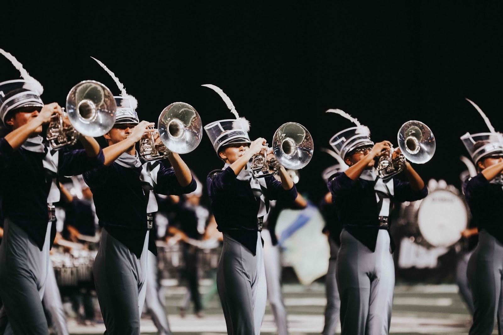 Carolina Crown brass performs at DCI World Finals